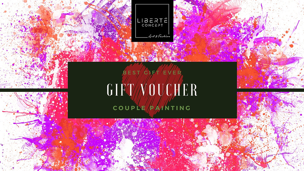 Couple Painting Gift Voucher