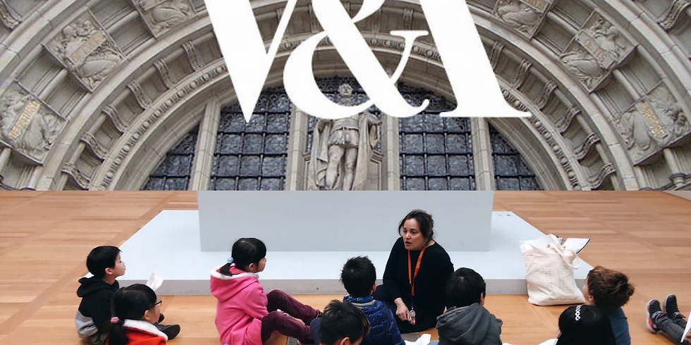Kids Discovery Tour at V&A Museum