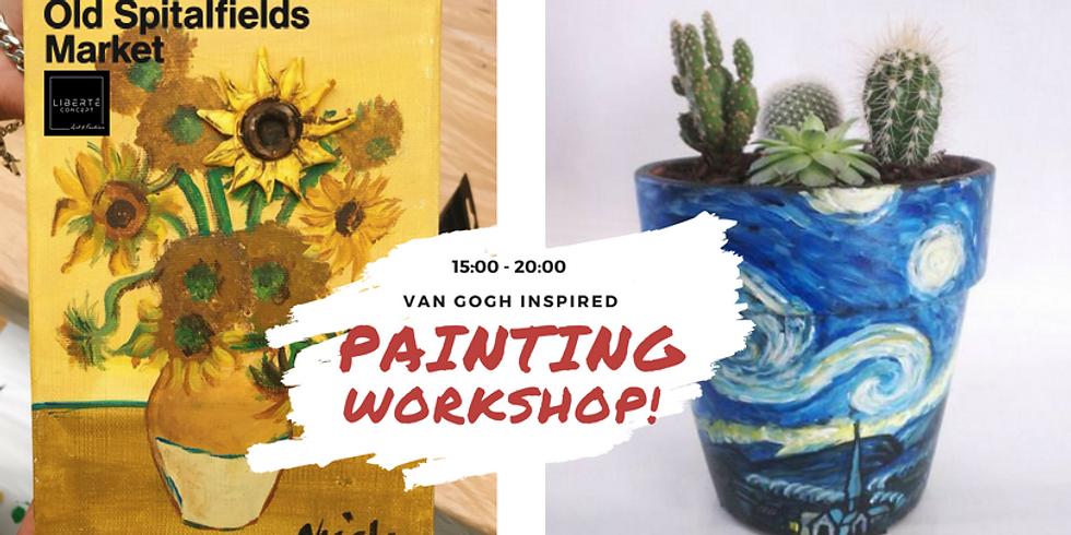 Van Gogh inspired Painting Workshop