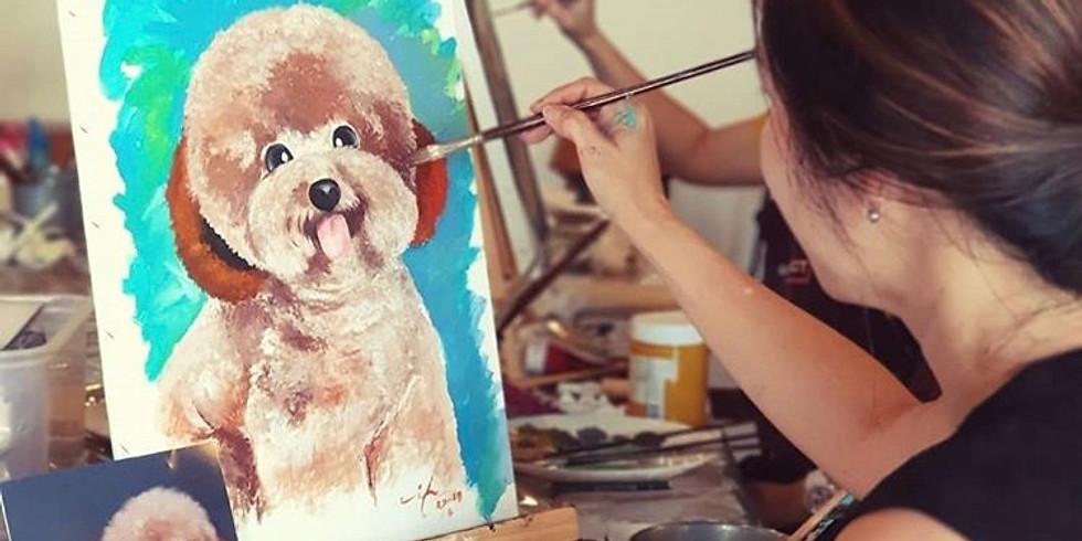 Pet Lovers Attention! Pet Portraits Painting Workshop