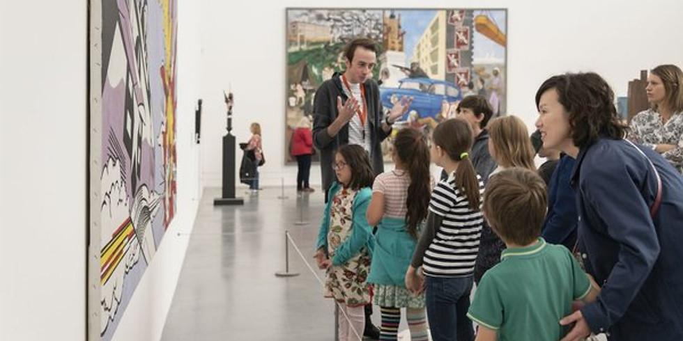 Kids Art Club | Interactive Tour at Tate Britain