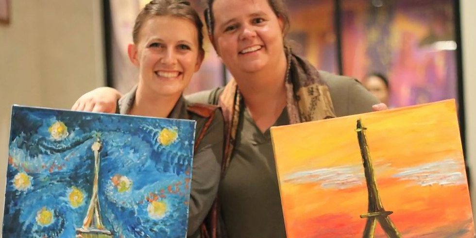 Christmas Social Painting Party with Live Music
