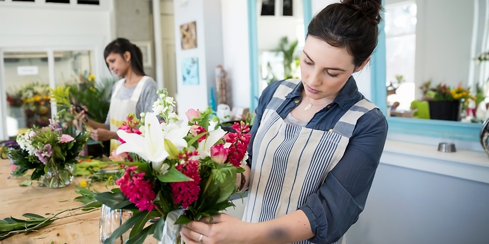 International Women's Day Bouquet Workshop