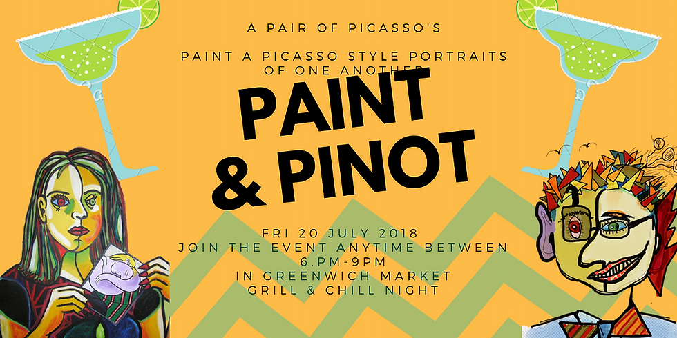 A Pair of Picasso's-Paint & Pinot In Greenwich Market