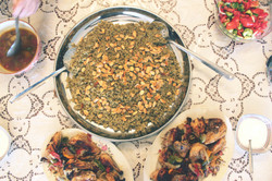 Freekeh and chicken