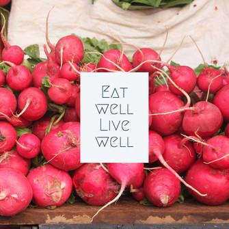 Locally grown radishes at the Bethlehem Farmers Market