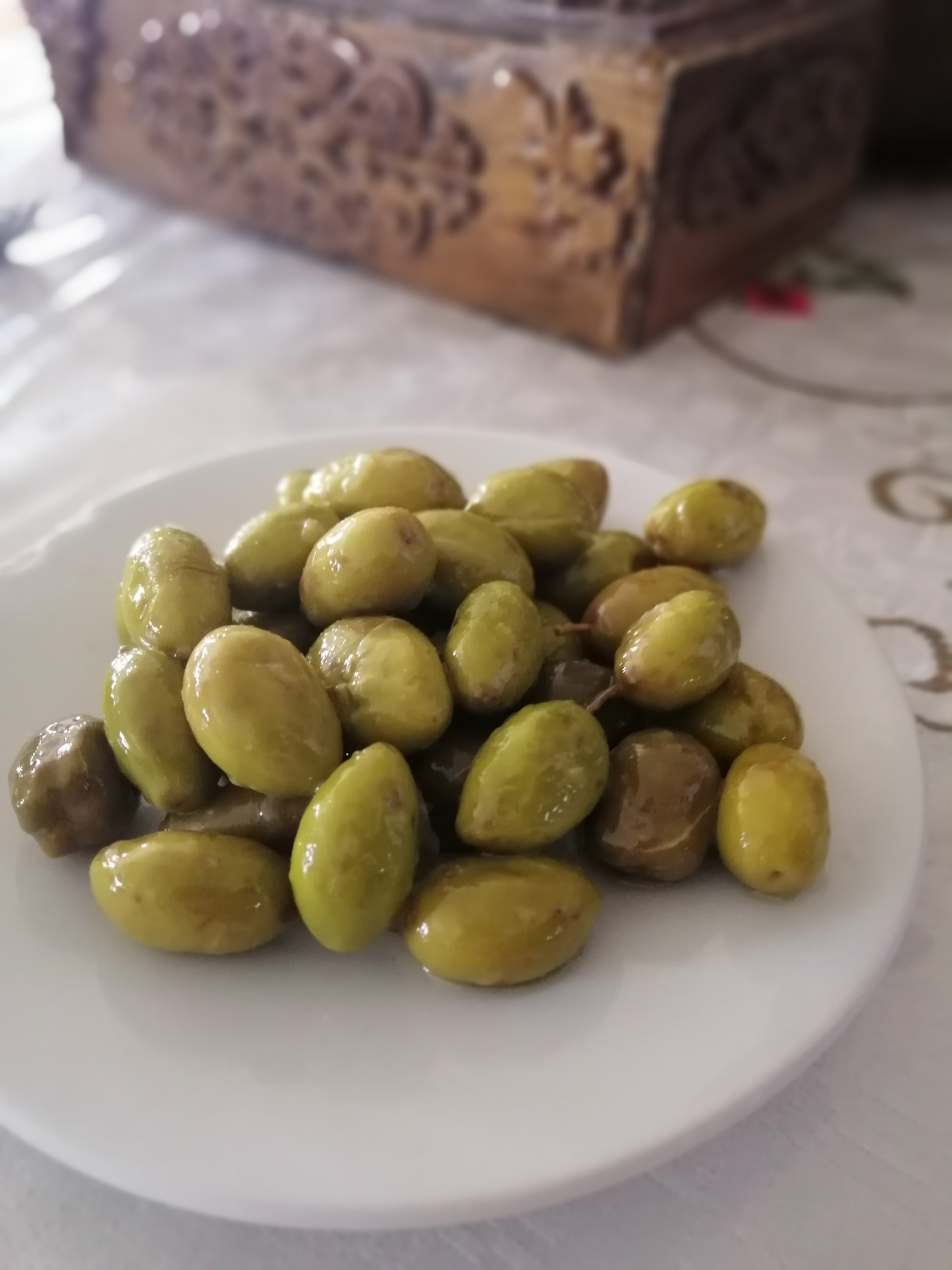 Home made olives by granny