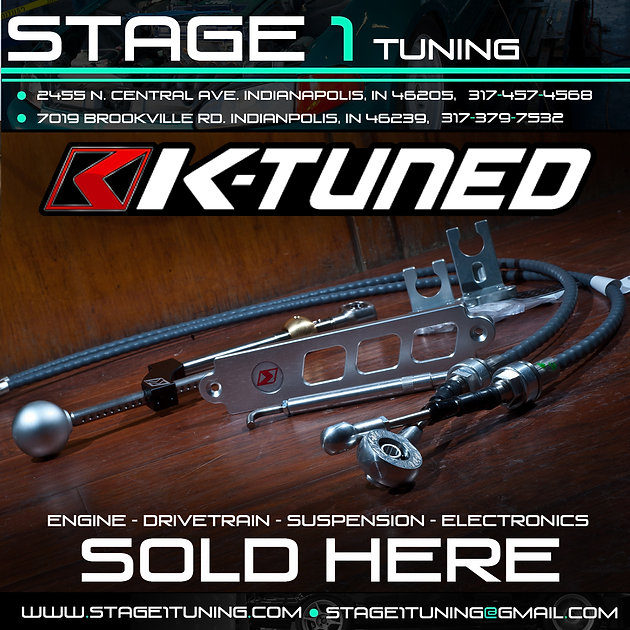 K-Tuned Products of All Types Available Here at Stage1Tuning