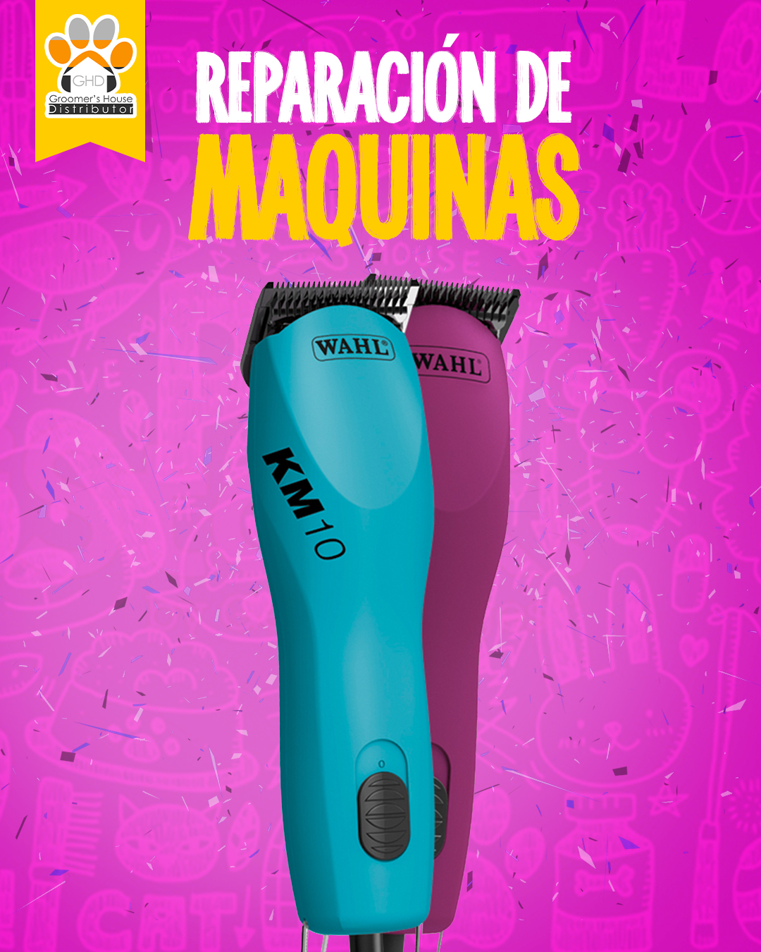 MAQUINAS GROOMING