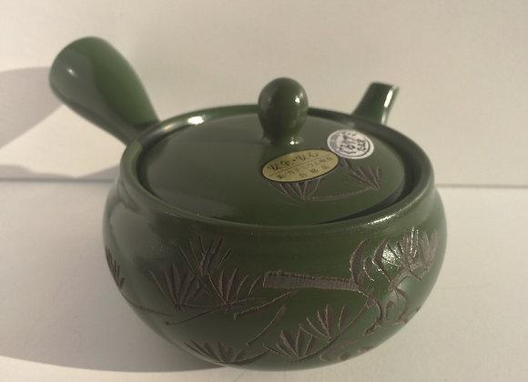 Grön Tekanna i Keramik