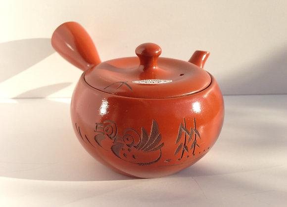 Rostbrun Tekanna i Keramik