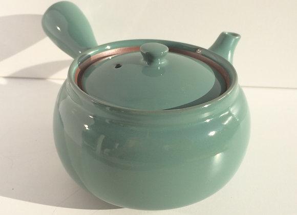 Jade färgad Tekanna i  Keramik