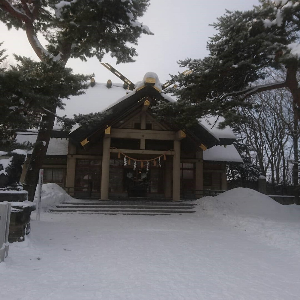 江別市萩ケ丘 江別神社