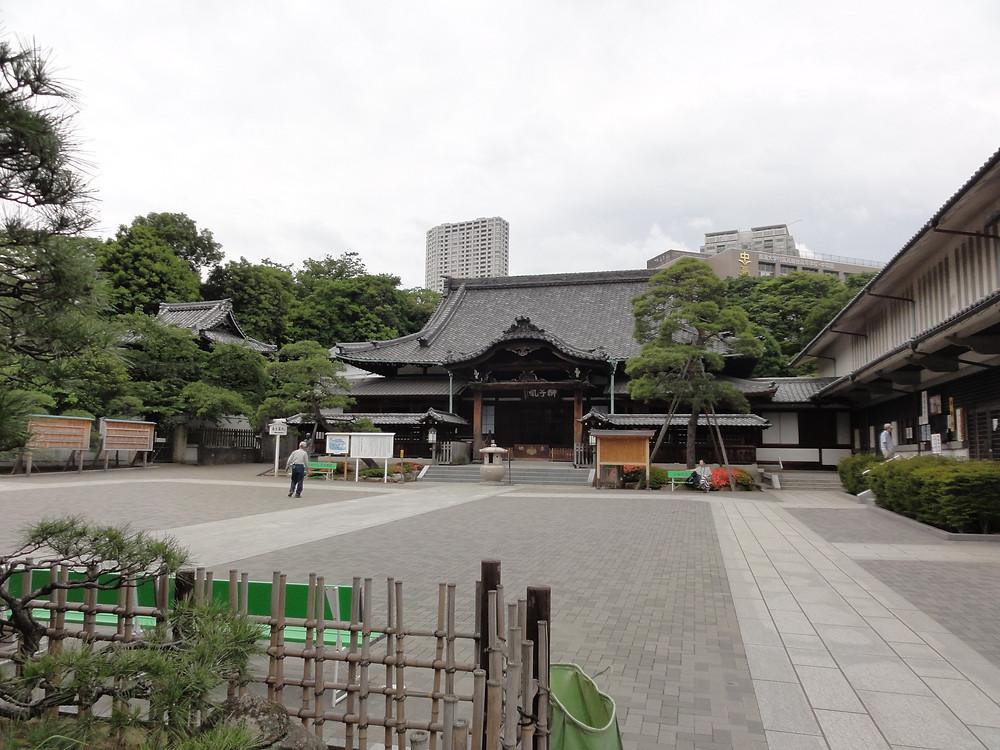 泉岳寺の境内