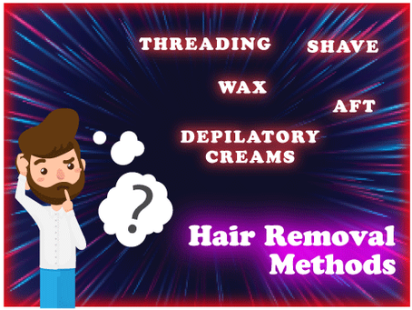 5 Methods of Hair Removal. Which is Right for You?