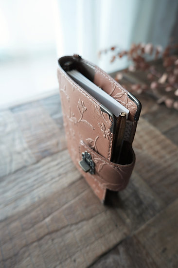 Leather planner, locked diary