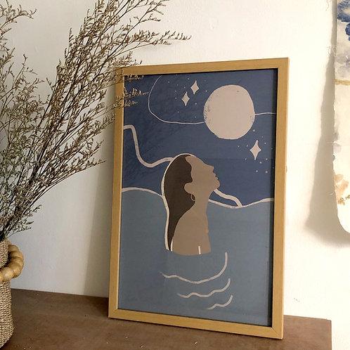 Above Water Art Print