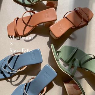 Muni Muni Studio Hand Painted Heels