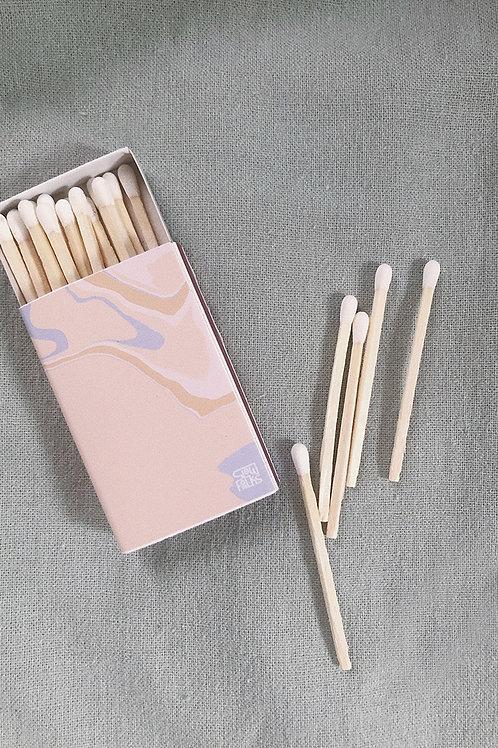 White Match Sticks