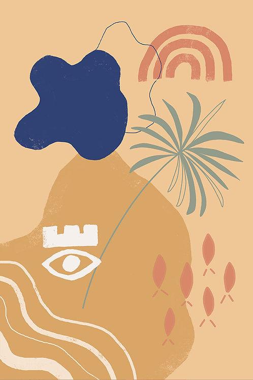 BUHAY ISLA ART PRINT