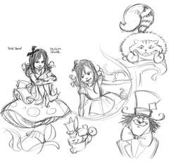 Alice&Wonderland Dark Side HalloweenConcepts1