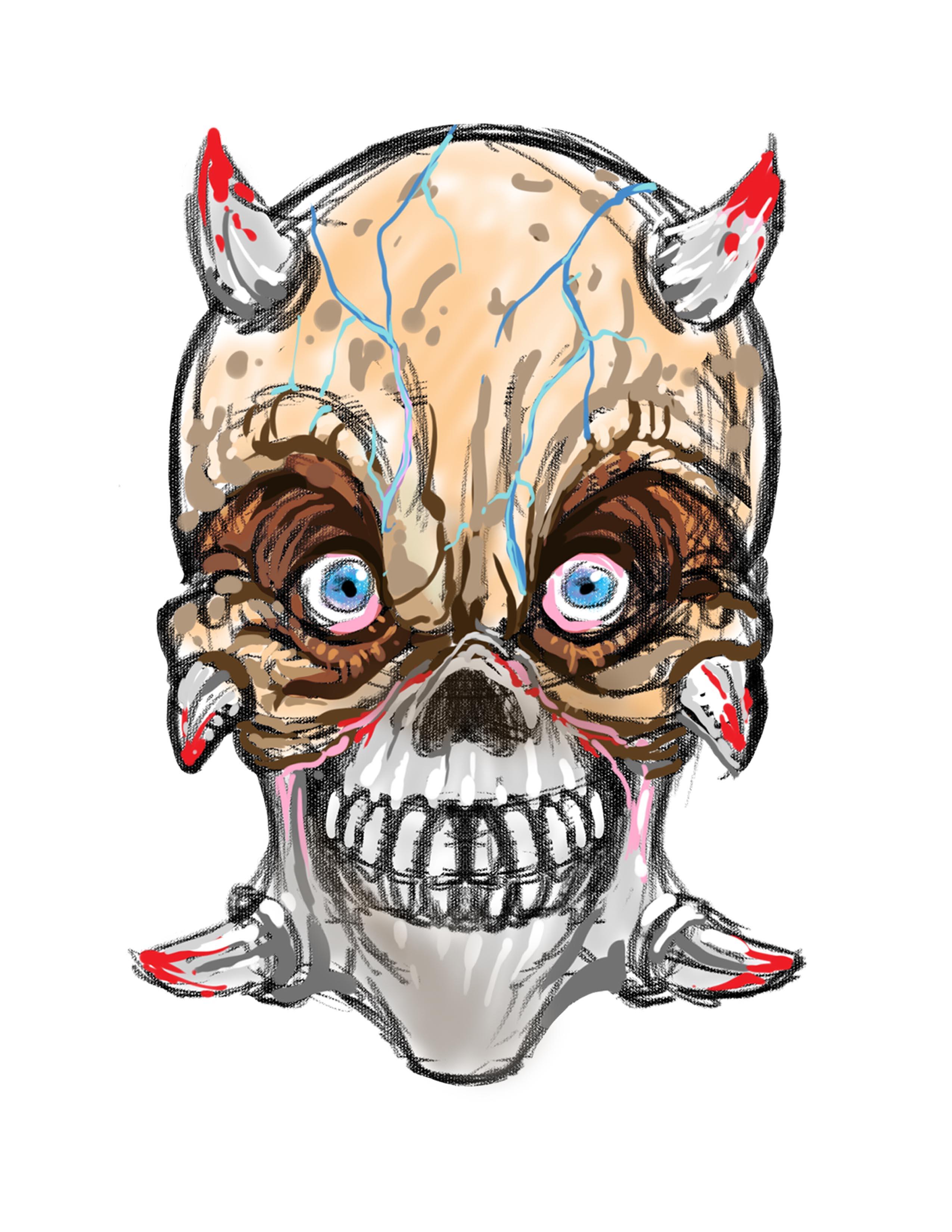 CreepyMasksSkull