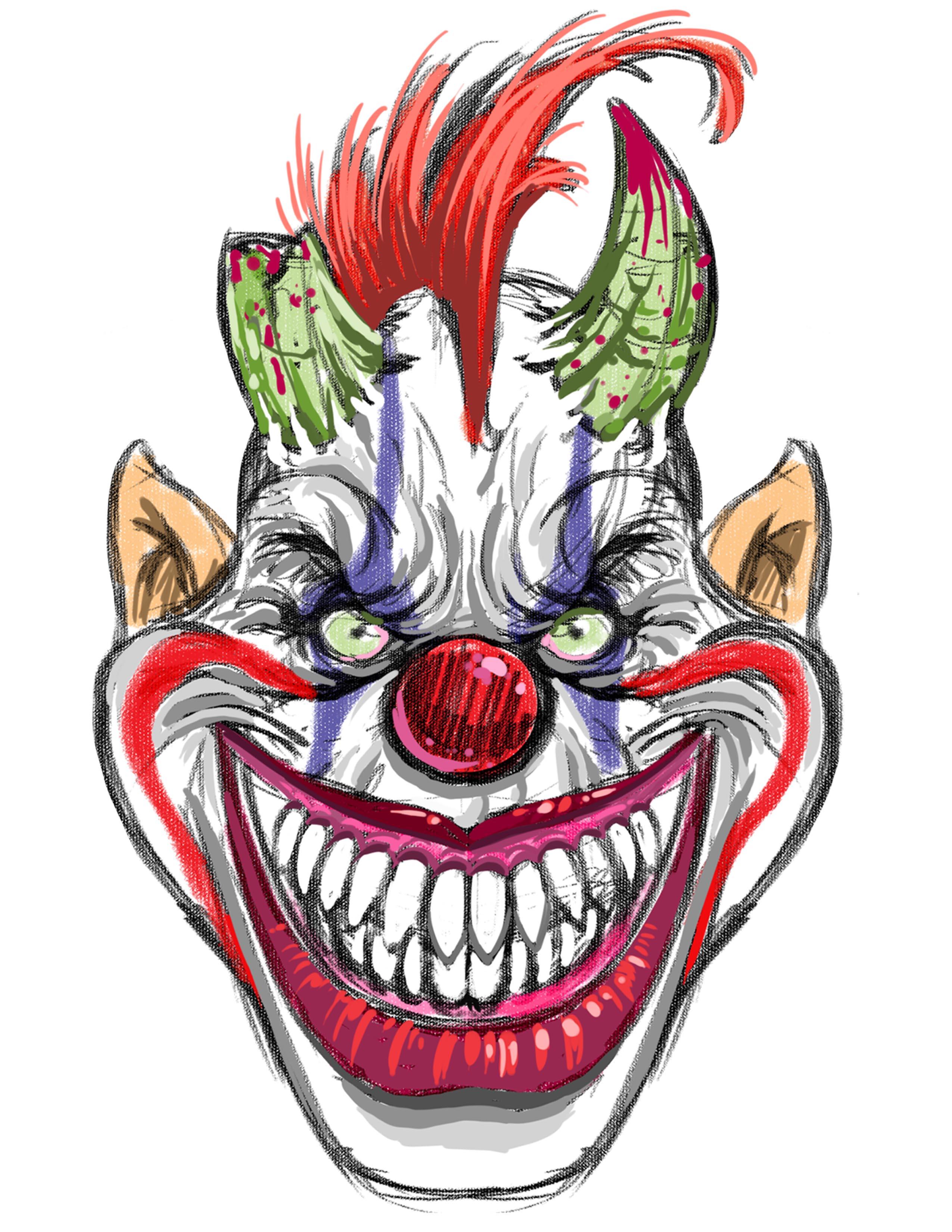 CreepyMasksClown