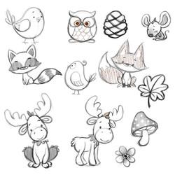 CrittersStyleSketches