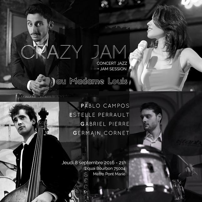 Perrault Estelle, Jazz, Concert, Evenement privé, Animation musicale, groupe de musique