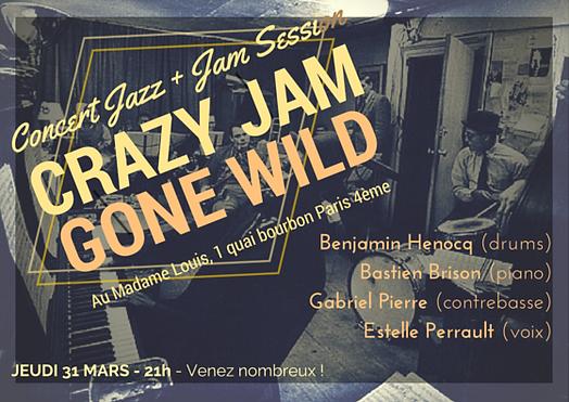 Jazz, Concert, musique, Paris, Chatelet, 38 riv, Jazz club