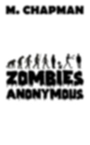Cover of humorous horror novel Zombies Anonymous