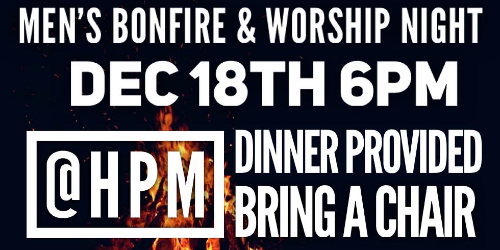 Men's Bonfire and Worship