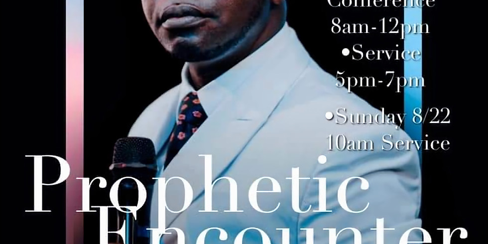 Prophetic Encounter with Apostle Ampah