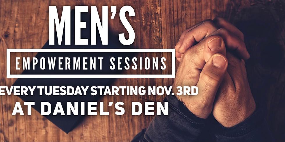 Men's Empowerment sessions