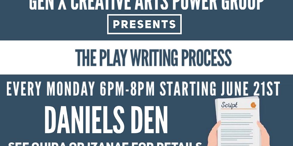 Gen X Play Writing Process