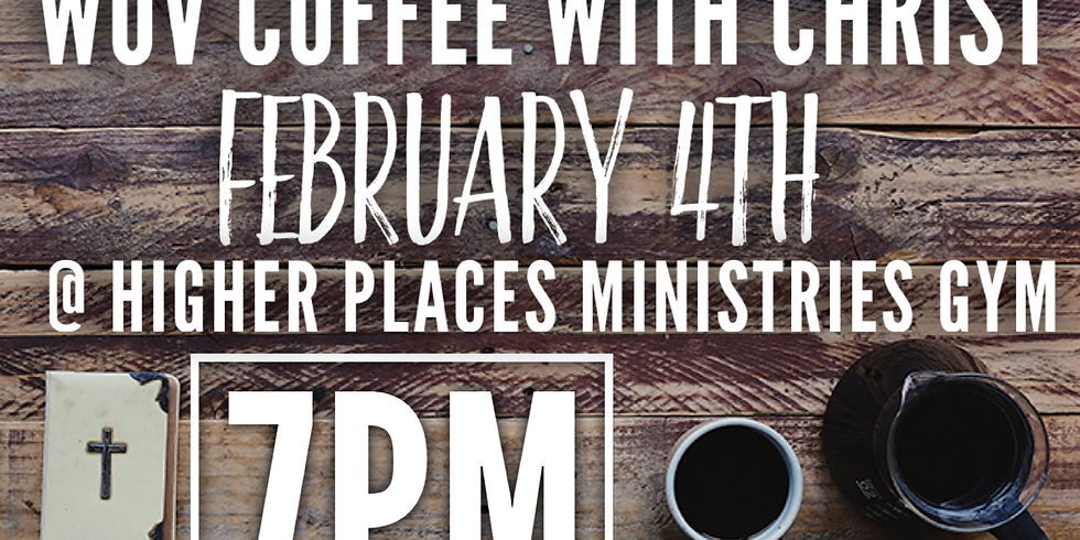 Women of valor coffee with Christ