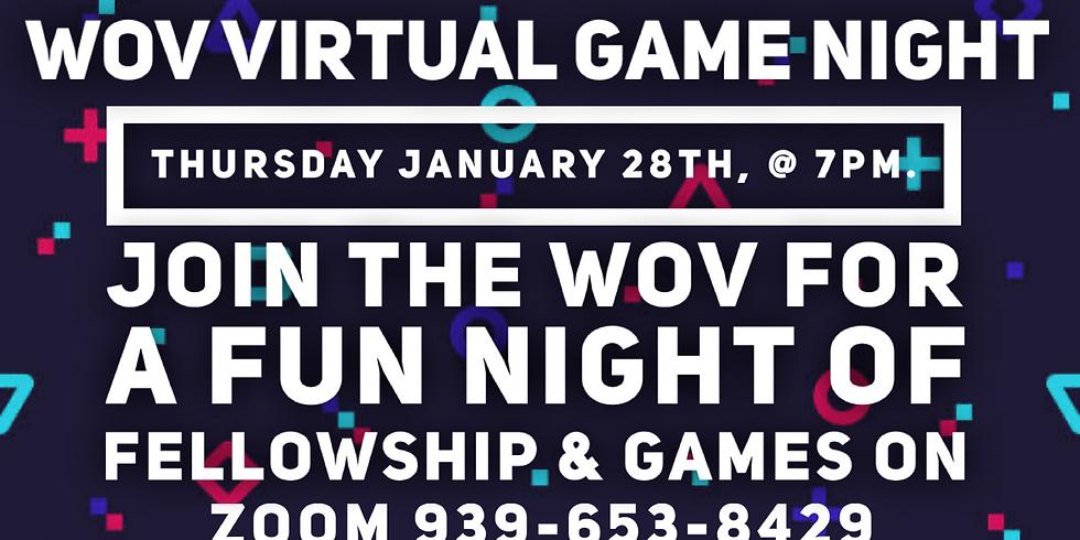Women of valor virtual game night