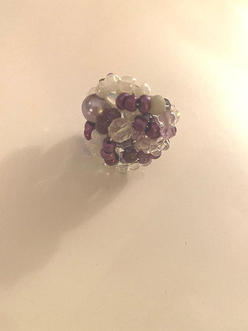 Wire Wrapped Cluster Ring