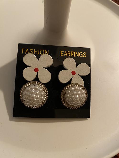 Flowers and Berries Earrings