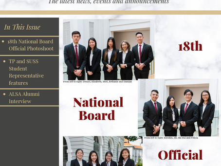 ALSA Singapore Newsletter #2: Oct - Dec 2020