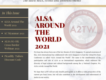 ALSA Singapore Newsletter #3: Jan - Mar 2021