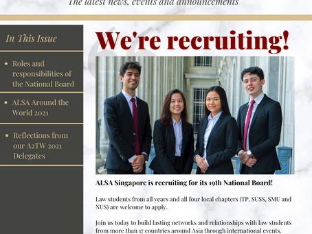 ALSA Singapore Newsletter #4: Apr - Jun 2021