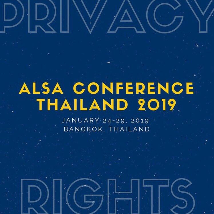 ALSA Conference Thailand 2019