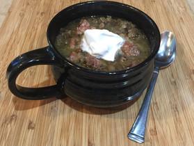 The Makings of Basic Lentil Stew