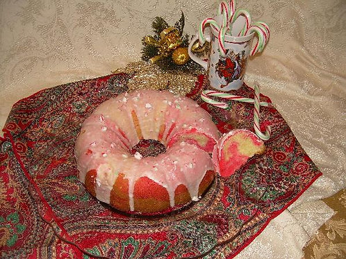 Peppermint Pound Cake
