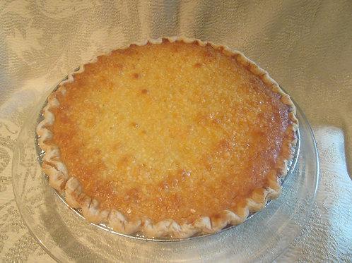 Coconut Pound Cake Pie