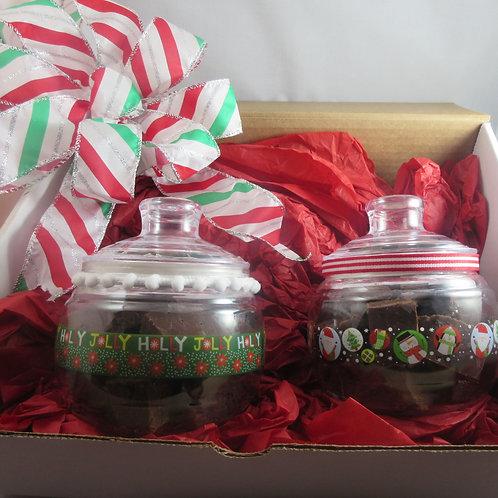Fudge in Jar  Set  of 2-12 oz.