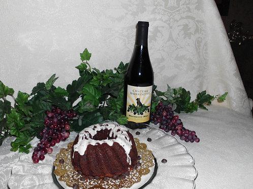 Blackberry Chocolate Pound Cake