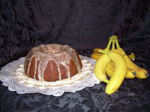 Banana Cream Pound Cake