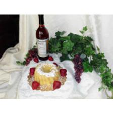 Strawberry WIne Pound Cake
